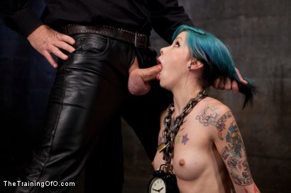 Photo number 5 from Day 5 red and blue shot for The Training Of O on Kink.com. Featuring Iona Grace, Krysta Kaos and Tom Moore in hardcore BDSM & Fetish porn.