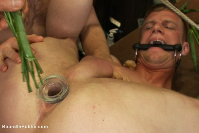 Photo number 8 from Nordic hunk humiliated and bukkake in a flower shop. shot for Bound in Public on Kink.com. Featuring Ned Mayhem and Blake Daniels in hardcore BDSM & Fetish porn.