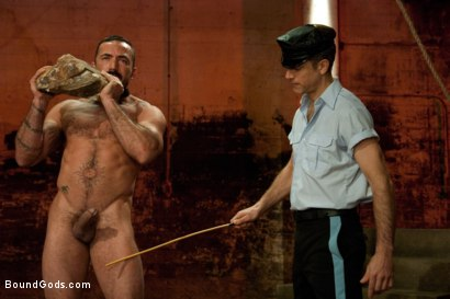 Photo number 1 from The Reunion - Live Shoot shot for Bound Gods on Kink.com. Featuring Alessio Romero, Leo Forte, Master Avery and Van Darkholme in hardcore BDSM & Fetish porn.