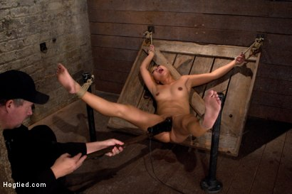 Photo number 11 from Hot little Japanese girl is made to cum over and over   so much she forgets how to speak English. shot for Hogtied on Kink.com. Featuring Yuki Mori in hardcore BDSM & Fetish porn.