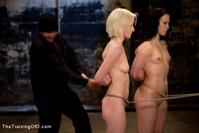 Photo number 3 from Day 2 February's Final 2 Slaves shot for The Training Of O on Kink.com. Featuring Emma Haize, Cheyenne Jewel, Michelle, Sparky Sin Claire and Shae Simone in hardcore BDSM & Fetish porn.