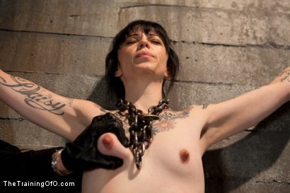 Photo number 13 from Day 3 - sparky and muscles  shot for The Training Of O on Kink.com. Featuring Cheyenne Jewel and Sparky Sin Claire in hardcore BDSM & Fetish porn.