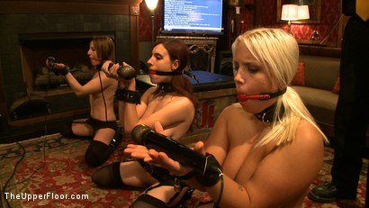 Photo number 15 from Service Day: Pain Processing shot for The Upper Floor on Kink.com. Featuring Jessie Cox, Kait Snow and Iona Grace in hardcore BDSM & Fetish porn.