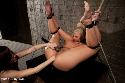 Photo number 10 from Phoenix Marie gets her ass Fisted in Bondage!!!! shot for Wired Pussy on Kink.com. Featuring Phoenix Marie and Princess Donna Dolore in hardcore BDSM & Fetish porn.