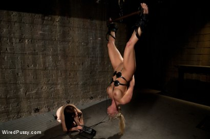 Photo number 13 from Phoenix Marie gets her ass Fisted in Bondage!!!! shot for Wired Pussy on Kink.com. Featuring Phoenix Marie and Princess Donna Dolore in hardcore BDSM & Fetish porn.