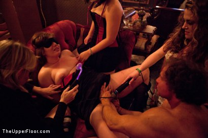 Photo number 13 from How many times can one man cum? shot for The Upper Floor on Kink.com. Featuring Marco Banderas, Jynx Maze, Kristina Rose, Jessie Cox and Nicki Blue in hardcore BDSM & Fetish porn.