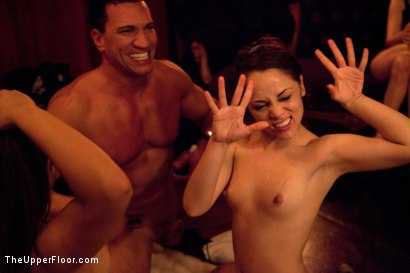 Photo number 14 from How many times can one man cum? shot for The Upper Floor on Kink.com. Featuring Marco Banderas, Jynx Maze, Kristina Rose, Jessie Cox and Nicki Blue in hardcore BDSM & Fetish porn.