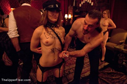 Photo number 15 from How many times can one man cum? shot for The Upper Floor on Kink.com. Featuring Marco Banderas, Jynx Maze, Kristina Rose, Jessie Cox and Nicki Blue in hardcore BDSM & Fetish porn.