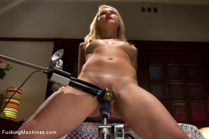 Photo number 10 from Bind Her To The Bed   Fuck Her With Machines shot for Fucking Machines on Kink.com. Featuring Natasha Lyn in hardcore BDSM & Fetish porn.