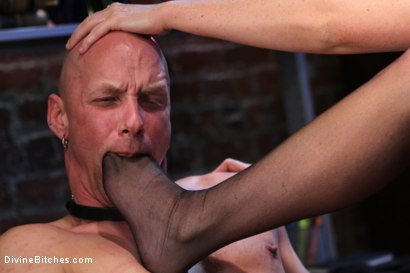 Photo number 3 from Mistress Sophie Dee owns your cock! shot for Divine Bitches on Kink.com. Featuring Sophie Dee and Chad Rock in hardcore BDSM & Fetish porn.