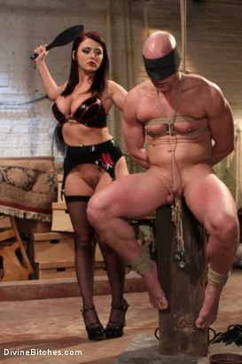 Photo number 11 from Mistress Sophie Dee owns your cock! shot for Divine Bitches on Kink.com. Featuring Sophie Dee and Chad Rock in hardcore BDSM & Fetish porn.