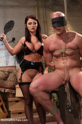 Photo number 2 from Mistress Sophie Dee owns your cock! shot for Divine Bitches on Kink.com. Featuring Sophie Dee and Chad Rock in hardcore BDSM & Fetish porn.