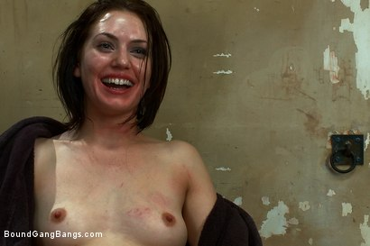 Photo number 15 from Hot Slut Pays off her Boyfriend's Debts with her Body shot for Bound Gang Bangs on Kink.com. Featuring Sarah Shevon in hardcore BDSM & Fetish porn.