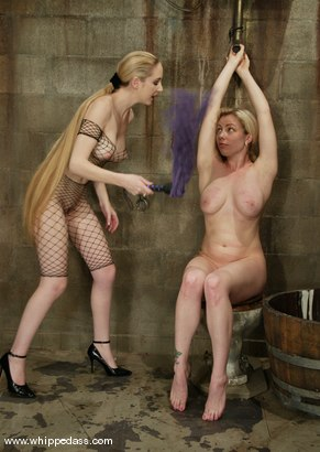 Photo number 2 from Adrianna Nicole and Chanta-Rose shot for Whipped Ass on Kink.com. Featuring Adrianna Nicole and Chanta-Rose in hardcore BDSM & Fetish porn.