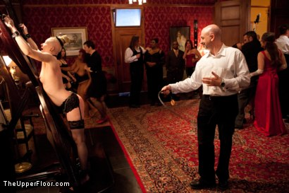 Photo number 4 from Stefanos' Brunch shot for The Upper Floor on Kink.com. Featuring Maestro Stefanos, Nerine Mechanique, Jessie Cox and Kait Snow in hardcore BDSM & Fetish porn.