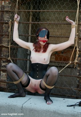 Photo number 11 from Kendra James and Torque shot for Hogtied on Kink.com. Featuring Kendra James and Torque in hardcore BDSM & Fetish porn.