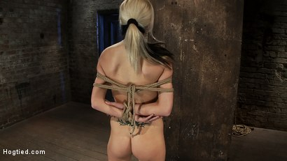 Photo number 6 from BONDAGE TUTORIAL<br> Learn the fundamentals of rope bondage. Step by step video instructions.  shot for Hogtied on Kink.com. Featuring Isis Love and Haley Cummings in hardcore BDSM & Fetish porn.
