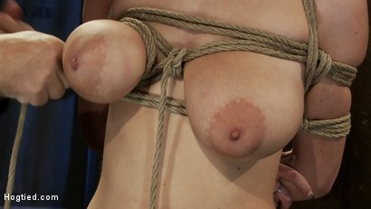 Photo number 8 from BONDAGE TUTORIAL<br> Learn the fundamentals of rope bondage. Step by step video instructions.  shot for Hogtied on Kink.com. Featuring Isis Love and Haley Cummings in hardcore BDSM & Fetish porn.