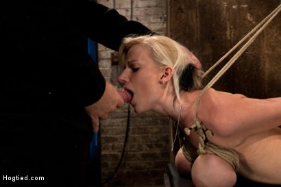 Photo number 11 from BONDAGE TUTORIAL: Part 3 of 4.<br>Today we teach you how to bind, & wrap breasts properly & safely. shot for Hogtied on Kink.com. Featuring Isis Love and Haley Cummings in hardcore BDSM & Fetish porn.