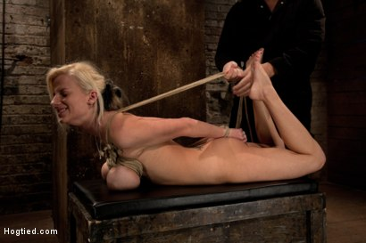 Photo number 6 from BONDAGE TUTORIAL: Part 3 of 4.<br>Today we teach you how to bind, & wrap breasts properly & safely. shot for Hogtied on Kink.com. Featuring Isis Love and Haley Cummings in hardcore BDSM & Fetish porn.