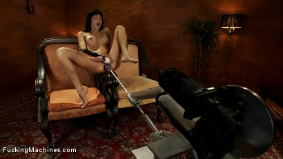 Photo number 9 from The Pussy That Just Keeps on Giving:<br>Cum Showers, Goatmilkers, 500 RPMs shot for Fucking Machines on Kink.com. Featuring Gia DiMarco in hardcore BDSM & Fetish porn.