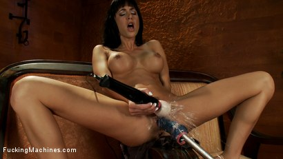 Photo number 3 from The Pussy That Just Keeps on Giving:<br>Cum Showers, Goatmilkers, 500 RPMs shot for Fucking Machines on Kink.com. Featuring Gia DiMarco in hardcore BDSM & Fetish porn.