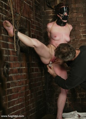 Photo number 3 from Nina and Torque shot for Hogtied on Kink.com. Featuring Nina and Torque in hardcore BDSM & Fetish porn.