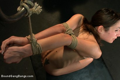 Photo number 9 from Amber Rayne shot for Bound Gang Bangs on Kink.com. Featuring Amber Rayne in hardcore BDSM & Fetish porn.