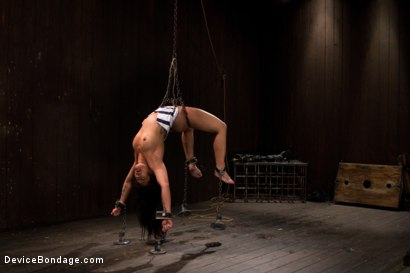 Photo number 14 from The Cumming of the Dragon shot for Device Bondage on Kink.com. Featuring DragonLily in hardcore BDSM & Fetish porn.