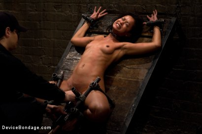 Photo number 13 from Part 1: Orgasmic Defeat shot for Device Bondage on Kink.com. Featuring Skin Diamond in hardcore BDSM & Fetish porn.