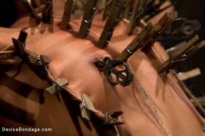 Photo number 10 from Part 1: Orgasmic Defeat shot for Device Bondage on Kink.com. Featuring Skin Diamond in hardcore BDSM & Fetish porn.