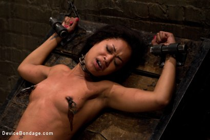 Photo number 8 from Part 1: Orgasmic Defeat shot for Device Bondage on Kink.com. Featuring Skin Diamond in hardcore BDSM & Fetish porn.