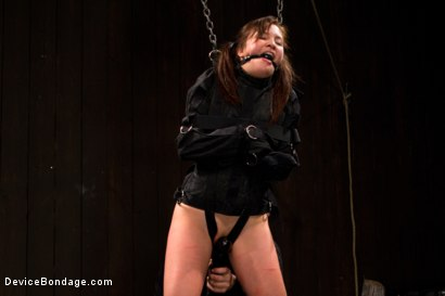 Photo number 12 from Cravings of a 19 yr old College Cutie  shot for Device Bondage on Kink.com. Featuring Kiki Koi in hardcore BDSM & Fetish porn.