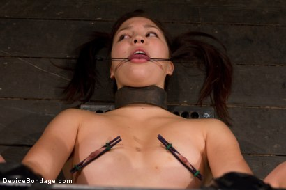 Photo number 7 from Cravings of a 19 yr old College Cutie  shot for Device Bondage on Kink.com. Featuring Kiki Koi in hardcore BDSM & Fetish porn.