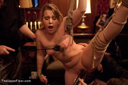 Photo number 12 from Six Slaves shot for The Upper Floor on Kink.com. Featuring Jessie Cox, Iona Grace, Sparky Sin Claire, Cheyenne Jewel, Nicki Blue and Lilla Katt in hardcore BDSM & Fetish porn.