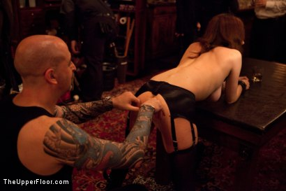 Photo number 21 from Six Slaves shot for The Upper Floor on Kink.com. Featuring Jessie Cox, Iona Grace, Sparky Sin Claire, Cheyenne Jewel, Nicki Blue and Lilla Katt in hardcore BDSM & Fetish porn.