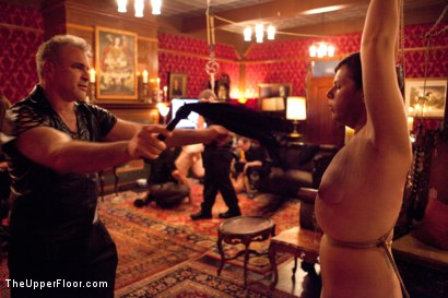 Photo number 10 from Six Slaves shot for The Upper Floor on Kink.com. Featuring Jessie Cox, Iona Grace, Sparky Sin Claire, Cheyenne Jewel, Nicki Blue and Lilla Katt in hardcore BDSM & Fetish porn.