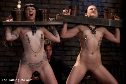 Photo number 2 from Final Exam-muscles and sparky shot for The Training Of O on Kink.com. Featuring Cheyenne Jewel and Sparky Sin Claire in hardcore BDSM & Fetish porn.