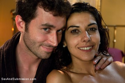 Photo number 15 from The French Maid shot for Sex And Submission on Kink.com. Featuring James Deen and Lou Charmelle in hardcore BDSM & Fetish porn.