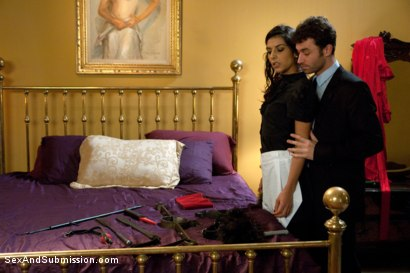 Photo number 1 from The French Maid shot for Sex And Submission on Kink.com. Featuring James Deen and Lou Charmelle in hardcore BDSM & Fetish porn.