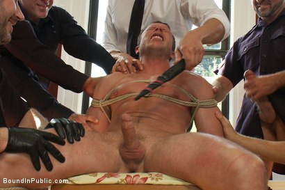 Photo number 6 from Perverted Punishment - Ethan Hudson shot for Bound in Public on Kink.com. Featuring Josh West and Ethan Hudson in hardcore BDSM & Fetish porn.