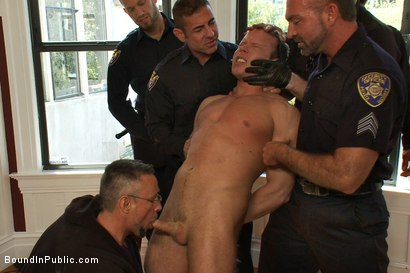 Photo number 4 from Perverted Punishment - Ethan Hudson shot for Bound in Public on Kink.com. Featuring Josh West and Ethan Hudson in hardcore BDSM & Fetish porn.