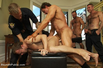 Photo number 9 from Perverted Punishment - Ethan Hudson shot for Bound in Public on Kink.com. Featuring Josh West and Ethan Hudson in hardcore BDSM & Fetish porn.