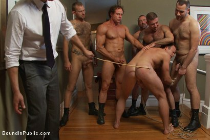 Photo number 13 from Perverted Punishment - Ethan Hudson shot for Bound in Public on Kink.com. Featuring Josh West and Ethan Hudson in hardcore BDSM & Fetish porn.