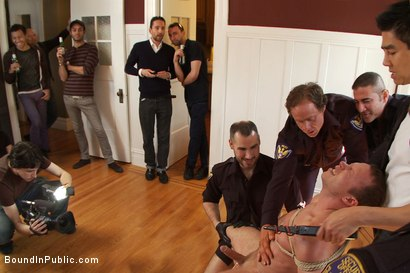 Photo number 7 from Perverted Punishment - Ethan Hudson shot for Bound in Public on Kink.com. Featuring Josh West and Ethan Hudson in hardcore BDSM & Fetish porn.