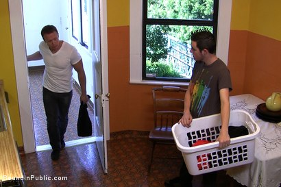 Photo number 1 from Perverted Punishment - Ethan Hudson shot for Bound in Public on Kink.com. Featuring Josh West and Ethan Hudson in hardcore BDSM & Fetish porn.
