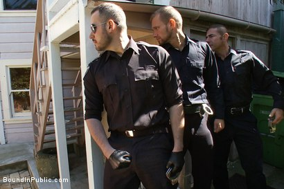 Photo number 2 from Perverted Punishment - Ethan Hudson shot for Bound in Public on Kink.com. Featuring Josh West and Ethan Hudson in hardcore BDSM & Fetish porn.