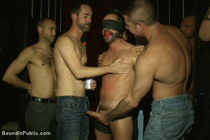 Photo number 5 from Inside Mack Prison - Sex Club shot for Bound in Public on Kink.com. Featuring Will Swagger and Josh West in hardcore BDSM & Fetish porn.