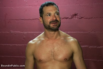 Photo number 15 from Inside Mack Prison - Sex Club shot for Bound in Public on Kink.com. Featuring Will Swagger and Josh West in hardcore BDSM & Fetish porn.