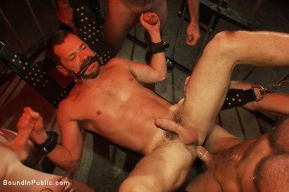 Photo number 14 from Inside Mack Prison - Sex Club shot for Bound in Public on Kink.com. Featuring Will Swagger and Josh West in hardcore BDSM & Fetish porn.